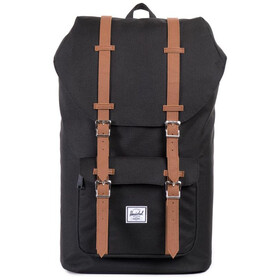 Herschel Little America Rugzak, black/tan